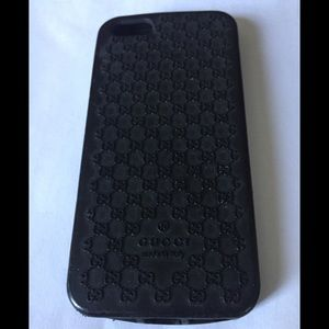 Guccissima Black Rubber Case iPhone 5